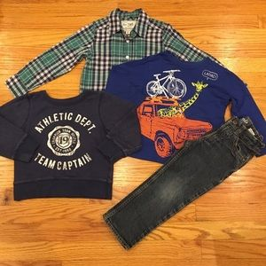 Boys 4T 4 Piece Winter Bundle
